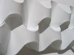 curved fold (polyscene) Tags: sculpture art geometric plane paper paperart design 3d origami pattern bass low surface relief polly folded fold curve curved poly bas score crease tessellation surfaces basrelief curvature verity papersculpture threedimensional polypropylene onesheet lowrelief bassrelief craftrobo polyprop nocuts graphtec developable polyscene pollyverity developablesurface curvedfold papersculptures 3dpattern foldedcurves 3dsurface 3dtilepattern 3dfoldedpattern 3dlowreliefpattern foldedpattern foldedtessellation sculpturalsurfaces
