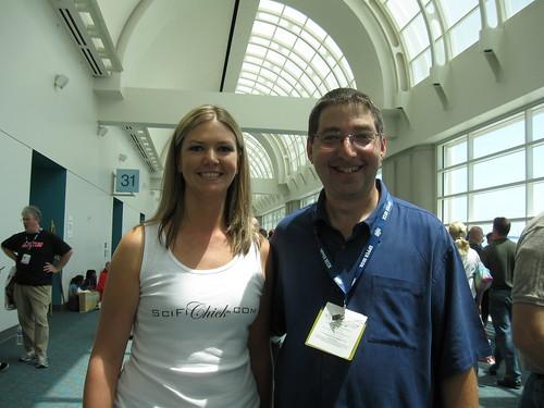 Lee Goldberg and I