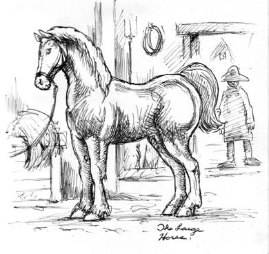 draw horse. Still drawing horses.