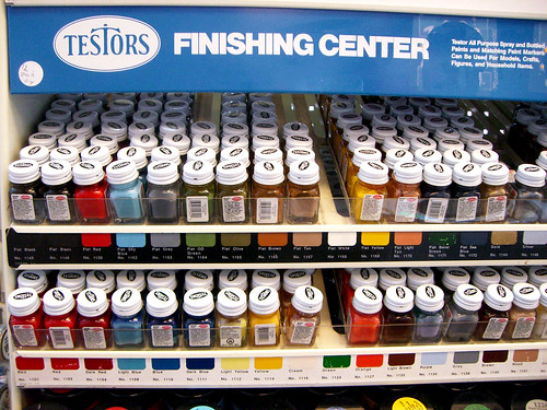 Testor's Finishing Center