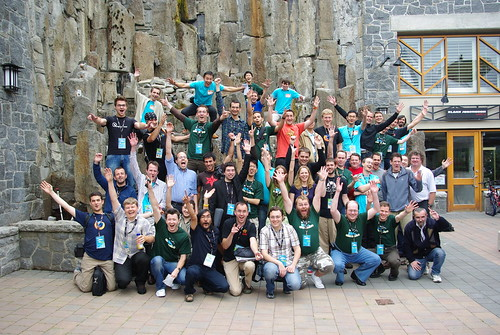 Many of the Mozilla localizers have met @Moz08, the Mozilla summit in Whistler