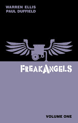 FreakAngels Volume 1 Signed Hardcover