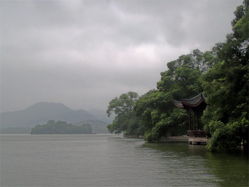 Hangzhou - just before the storm