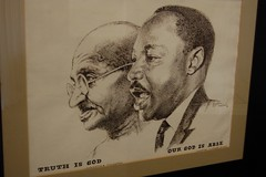 Mahatma Gandhi and Martin Luther King Jr.