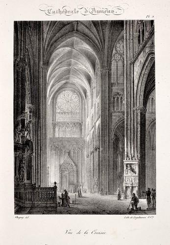 Amiens06- Vista del Transepto