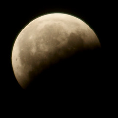End of Lunar Eclipse 1 (binaryCoco) Tags: moon night mond eclipse nacht hannover lunar mondfinsternis finsternis laatzen