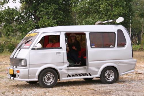 Unser getunter Raggae-Bus
