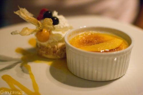 Cobre: mango crème brulée (by tiny bites)