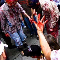 All bloodied