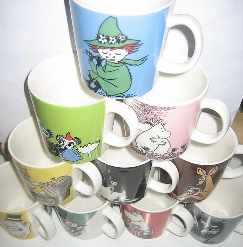 Moomin mugs
