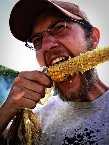 "Ravenous ""Man Eating Corn"""