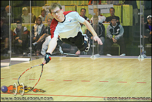 Racquetball Photo: Tower to Andy Hawthorne ..