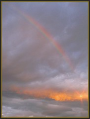 God's wonders!!!! (H.Carpe Diem) Tags: sky nature clouds rainbow potofgold digitalcameraclub