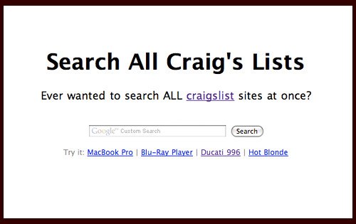 Search-All-Craigslists