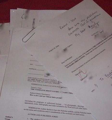 Rachel is Under Contract
