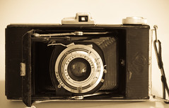 Agfa Billy I - Front, Open