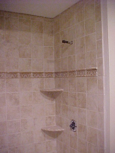 BATHROOM CUSTOM SHOWER STALL