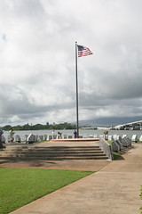 Waterfront Memorial (cliff1066) Tags: bridge museum hawaii oahu navy submarine worldwarii pearlharbor missile torpedo harpoon controlroom poseidon usnavy officer wahoo engineroom polaris galley ussmissouri deckgun antiaircraft caliber ballistic navigationsystem parche ussbowfin historiclandmark conningtower wardroom battleflags submarinemuseum quadgun