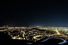 San Francisco and both Bridges