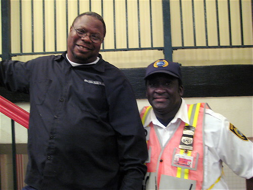 Timothy & Mickey - New York Transit Museum Staff