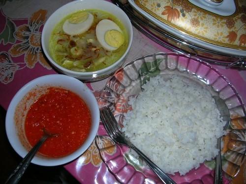 laksa bogor. Laksa Bogor with Sambal