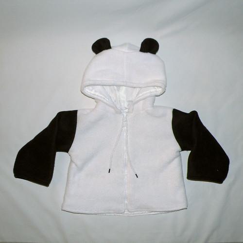 Panda Toddler Jacket by Sirelroka