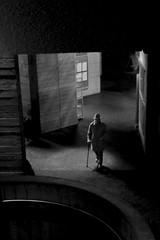 From darkness... (* Ahmad Kavousian *) Tags: darkness light weallblind royalnationaltheatrelondon man south bank explore36 explore explored beeninflickrexplorepage