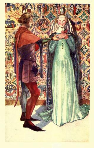 02- Vestimenta de hombre y mujer en la epoca de Edward II (1307-1327)