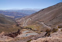 High Andean Road