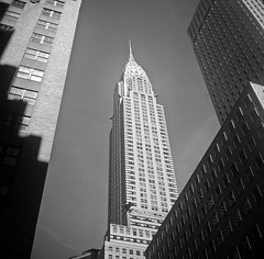 King of Art Deco (J.T.R.) Tags: nyc 120 film rolleiflex artdeco chryslerbuilding tessar circa1932 rolleiflexoldstandard analogkid jasonramsay2008 lexingtonand42nd