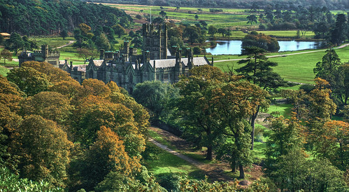 Margam House From The Chapel