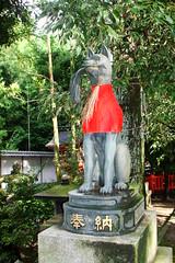 Guardià a Fushimi Inari Taisha