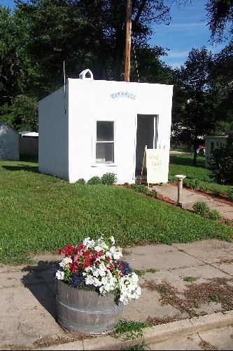 Smallest City Hall in America, Maskell, Nebraska