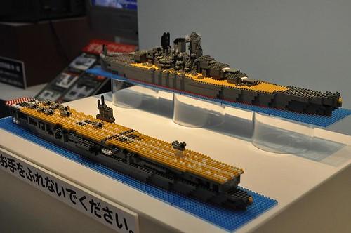 レゴ帝国に立ち向かう国産ダイヤブロック[全日本模型ホビーショー]