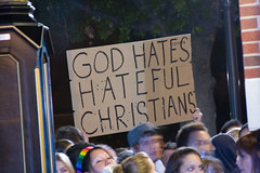 Sign: God Hates Hateful Christians