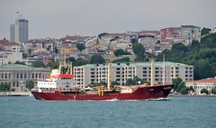 """Alisa"", Bosphorus, Istanbul, Turkey, 20 September 2008 (Ivan S. Abrams) Tags: docks turkey boats support ships istanbul taxis getty tugs straits ports blacksea ferries harbors bosphorus cruisers roro nato tugboats gettyimages vessels freighters tankers anatolia cruiseships smrgsbord liners warships ferryboats countermeasure workboats fireboats policeboats seaofmarmara ottomanempire bulker dardenelles boatswater boatsocean passengerships chokepoints onlythebestare museumships bulkers ivansabrams trainplanepro feribots ivanabrams servicecraft gettyimagesandtheflickrcollection copyrightivansabramsallrightsreservedunauthorizeduseofthisimageisprohibited tucson3985gmailcom trainferries marmarisproject destroyersfrigatesgunboatspatrol craftmissile boatssubmarinescombat shipsresearch vesselssteamshipssteam shipssetam linersminesweepersmine craftnaval vesselsnato naviesfishing boatsfishermenspeedboatspower copyrightivansafyanabrams2009allrightsreservedunauthorizeduseprohibitedbylawpropertyofivansafyanabrams unauthorizeduseconstitutestheft thisphotographwasmadebyivansafyanabramswhoretainsallrightstheretoc2009ivansafyanabrams abramsandmcdanielinternationallawandeconomicdiplomacy ivansabramsarizonaattorney ivansabramsbauniversityofpittsburghjduniversityofpittsburghllmuniversityofarizonainternationallawyer"