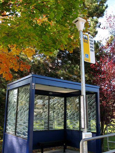 Bus Shelter with light