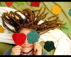 Love makes happy (Paulchen...mostly off. :)) Tags: love girl dreadlocks hands friend amor piercing luck hearth dread dreads kinderwelt thisisnotme
