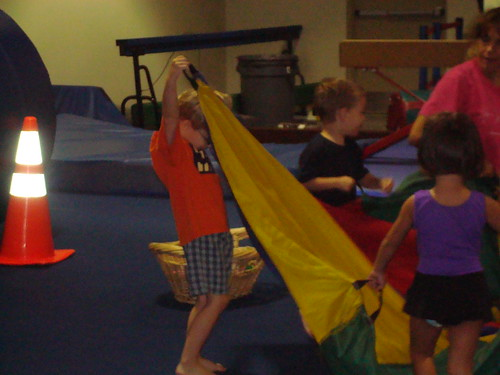 Sam at Gymnastics