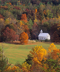 Cades Cove Classic (JLMphoto) Tags: park autumn mountains fall church landscape tennessee cemetary foliage explore national smoky smokies cadescove abigfave impressedbeauty karmanominated overtheexcellence absolutelystunningscapes jlmphoto