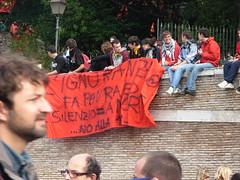 L'ignoranza fa paura (Gaiux) Tags: roma università protesta 2008 proteste scuola manifestazione sciopero riforma facoltà finanziaria istruzione sindacato sindacati gelmini 30102008 legge133