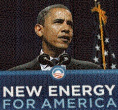 Obama New Energy for America Mosaic