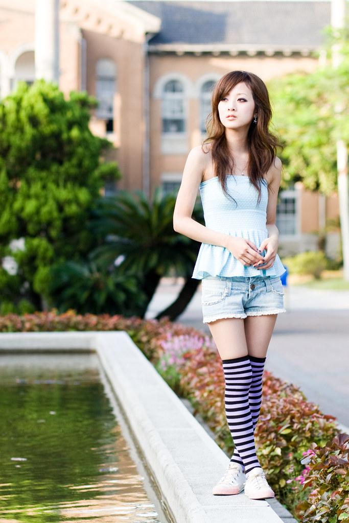 Pretty Taiwanese Model
