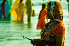 IMG_3298 (Ashish T) Tags: sun india men colors festival asian religious women worship colorful god indian religion lord maharashtra tradition mumbai puja bihar chhath ashisht ashishtibrewal