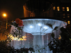 Father Demo Square Fountain by Steve and Sara, on Flickr