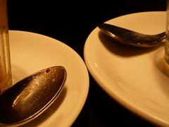 l'ora del caff (luana183) Tags: black bar parma coffe caff nero tazzine littlethings piattini cucchiaini piccolecose linoscoffeshop