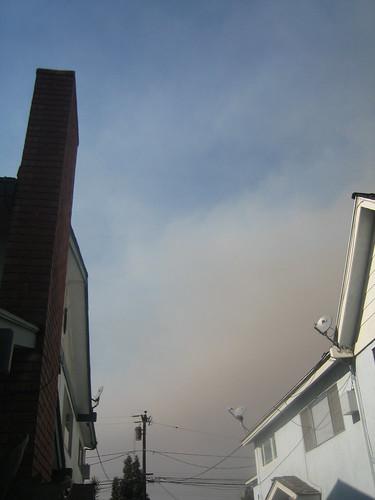 SoCal Fires-Smoke Cloud