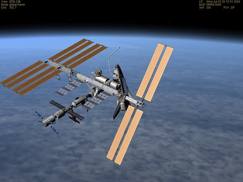 Happy Birthday ISS (10 years)