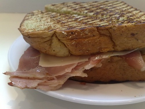 Ham & Swiss Emmenthal Cheese Sandwich