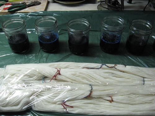 Prepare The Dye